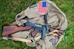 American Uniform stock image
