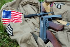 American Uniform stock photo