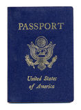 American or United States Passport. United States or American Passport Royalty Free Stock Photography