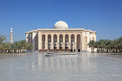American University of Sharjah. The American University of Sharjah, United Arab Emirates Royalty Free Stock Photos