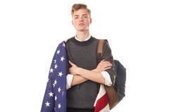 American university student Stock Photo