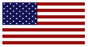 American US National Flag royalty free stock image