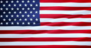 American USA flag, stars and stripes, united states of america stock footage