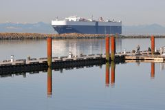 American Vehicle Ship Carrier royalty free stock images