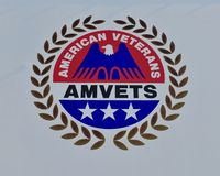 American Veterans of the United States Emblem Stock Photos
