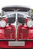 American Vintage Car, Close-up Of Dodge Front Detail