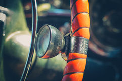 American vintage car interior detail Royalty Free Stock Photo