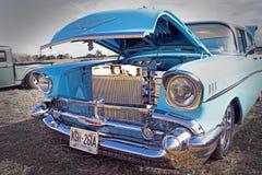 American vintage chevrolet royalty free stock image