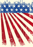 American vintage flag banner Royalty Free Stock Images