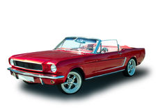 American Vintage muscle car Stock Photography