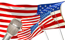 The American Voice Stock Photo