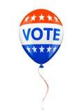 American VOTE ballon isolated Stock Photo