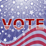American Vote Royalty Free Stock Photography