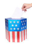 American voter Royalty Free Stock Photography