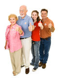 American Voters Isolated Royalty Free Stock Photos