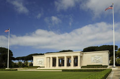 American war cemetery in Nettuno Royalty Free Stock Photography