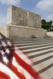 American War Cemetery - The Somme - France royalty free stock photography