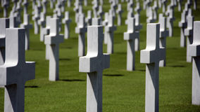 American war graves Royalty Free Stock Photos