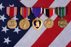 Free American War Medals Royalty Free Stock Images - 2368399