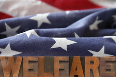 American welfare Stock Photo