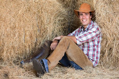 American western cowboy Royalty Free Stock Images