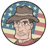 American western icon Stock Image