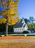 American white church Royalty Free Stock Images