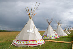 American wigwam Stock Photography
