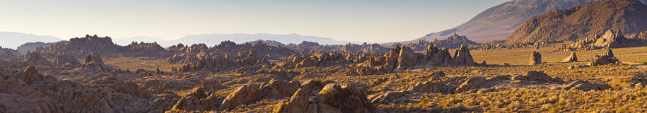 American Wilderness, Alabama Hills, California Stock Image