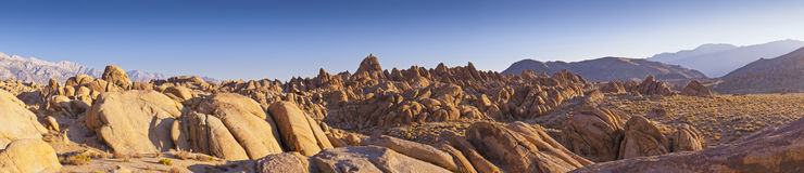 American Wilderness, Alabama Hills, California Royalty Free Stock Images