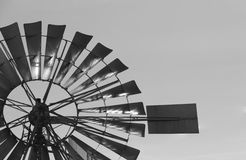 American Windmill. The blades of a wind American`s engine Royalty Free Stock Photos