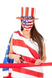 American woman Royalty Free Stock Photography