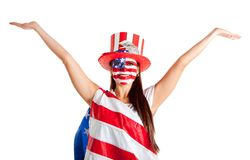 American woman Stock Images