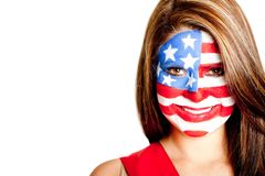 American woman Royalty Free Stock Image