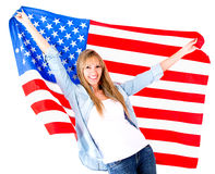 American woman Stock Image