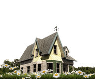 American wooden house Royalty Free Stock Images