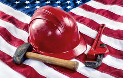American Worker. Stock Image