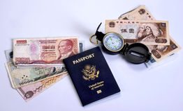 American World Traveler. Royalty Free Stock Images