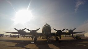 The American World War II bomber `Sally B` Boeing B-17G