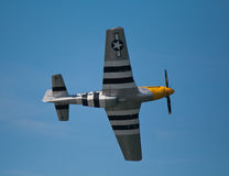 American WW2 fighter plane Royalty Free Stock Photography