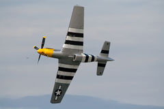 American WW2 Mustang Stock Photo
