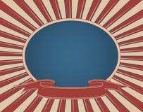 americana retro szyldowy rocznik Zdjęcie Royalty Free