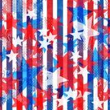 Americana wzór Obrazy Royalty Free