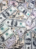americanen fakturerar dollaren Royaltyfri Foto