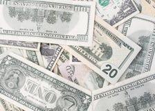 americanen fakturerar dollaren Arkivbilder