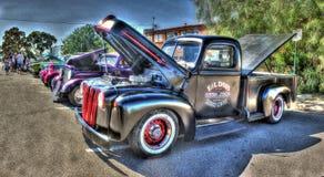 Americani classici prendono il camion Immagini Stock