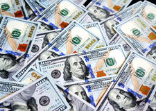 Americannew 100 dollari Fotografia Stock