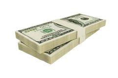 Americano 100 dólares Imágenes de archivo libres de regalías