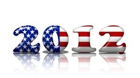 Americano in 2012 Fotografia Stock Libera da Diritti