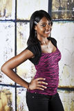 Americano africano adolescente Fotos de Stock